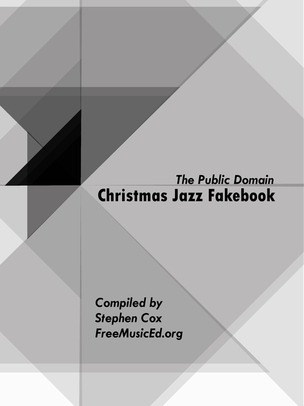 Free Christmas Jazz Fakebook Freemusiced Org